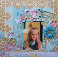 Spread a little sunshine wherever you go! ~ BOAF May Kit Reveal - Scrapbook.com