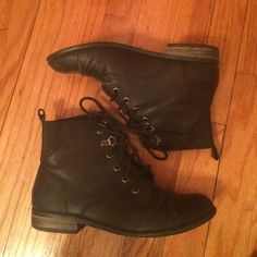 Black booties A little creasing but overall good condition Urban Outfitters Shoes Ankle Boots & Booties