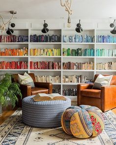Style At Home, Home Library Design, House Design, Library Ideas, Library Wall, Dream Library, Cozy Home Library, Library Inspiration, Beautiful Library