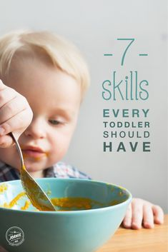 Learning / 7 skills every toddler should have