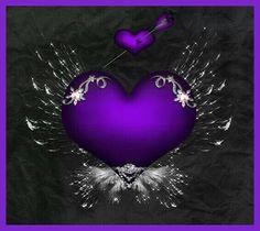 Purple n Black Purple Love, All Things Purple, Purple Rain, Shades Of Purple, Purple And Black, Purple Hearts, Purple Stuff, Purple Wallpaper, Wallpaper Backgrounds