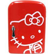So CUTE! It's a mini-fridge!!