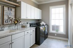 John F Kennedy C Floor Plan - Laundry Room - Centerra Ridge - Evansville, IN