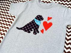 sweet sprouts boy puppy love valentine shirt
