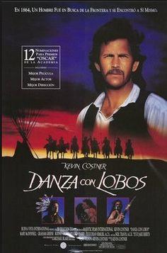 """Cine Sala """"Charles Chaplin"""": Danza con lobos(1990)... Ingresa a la sala pulsando el Link: http://cine-sala-a01-jcp.blogspot.com/2014/03/danza-con-lobos-1990-dir-kevin-costner.html"""