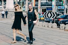 Street looks à la Fashion Week printemps-été 2016 de Milan