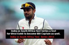 India vs South Africa 1st Test Live Streaming South Africa's tour of India 2015 has reached the Test matches stages. After winning the T20I series 2-1 and ODI series 3-2, South Africa will also want to win the 4 Test series, which is a first between India and South Africa on Indian soil. This article will provide you with the live streaming information for the Paytm India vs South Africa series 2015 and the tickets booking details for the serie