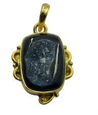 scenicbonny Druzy Gold Plated Multi Pendant wholesales US gift