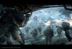 Star Wars -Fire assault - Arte Conceitual