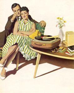 Elac ad detail, 1958