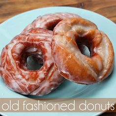 { sweets } old fashioned donut recipe & video