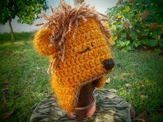 Lion Crochet Hat