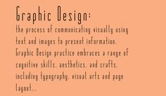 graphic design lesson plan