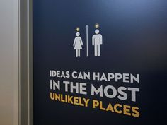Découvrez 22 pictogrammes de toilette créatives qui peuvent être utilisés à la fois à la maison et dans les espaces publics.