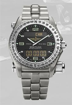 The @breitling Emergency (1995) was developed in collaboration with professional pilots to save lives. It came equipped with a micro-transmitter set to the international air distress frequency of 121.5 MHz. Once activated, the transmitter would repeatedly emit a 0.75-second impulse every 2.25 seconds. More @ http://www.watchtime.com/featured/5-milestone-breitling-watches-from-1915-to-today/ #breitling #watchtime #pilotswatch