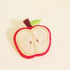 Broach* Apple Handicraft, Apple, Handmade, Collection, Food, Craft, Apple Fruit, Hand Made, Arts And Crafts