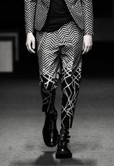 Neil Barrett, SS12 - Super cool mens trousers!