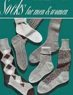 Knit Sock Patterns for Men and Women - Vintage Sock Knitting Patterns - Socks for Men - Socks for WomenKnitting Sock Patterns for Men and Women. Knit these vintage sock patterns from 1948 - Socks for Men and Women Book 250. All patterns come with complete detailed pattern and photos. Sizes range from 9-12 for men and 8-12 for women. Patterns call for sock yarn to be used.Patterns Include:Men's SocksMen's Tennis SocksMen's Argyle SocksMen's Hunting SocksMen's Classic SocksWomen's Sports Anklet...