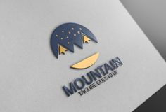 Mountain Logo by Josuf Media on @creativemarket