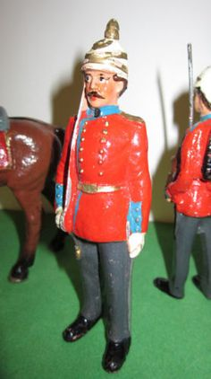 Pfeiffer Composition Soldiers circa 1898 made in Austria Toy Soldiers Very Old | eBay
