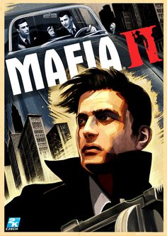 Mafia II Artwork HD desktop wallpaper Widescreen High Mafia Game, Mafia 2, Star Citizen, Dead Red Redemption 2, Mafia Wallpaper, Videos, Movie Poster Art, Video Game Art, Dieselpunk