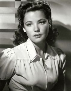Gene Tierney, 1939...oh my...goodness!