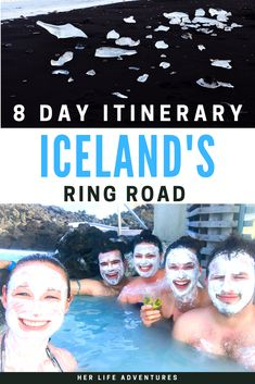 Road trip around Iceland with this ultimate 8 day itinerary. My guide will cover all the best stops in the Golden Circle & along the island's ring road. Chase down a waterfall, hike into an ice cave, and experience the magic of diamond beach #Iceland #Thingstodo #itinerary #8days #9days #7days #ringroad #goldencircle #diamondbeach #glaciers #waterfalls via @chelseamessina_