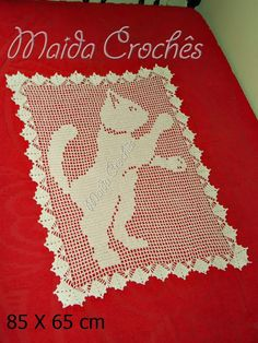 Maida Crochês: Tapete de Gato