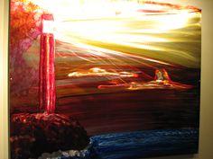 Art Conservation, Brushed Metal, Public Art, Metal Art, Lighthouse, Illustrations, Sculpture, Facebook, Painting