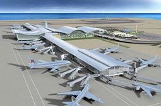 """Dholera Airport Development Work Shall Begin in FY 2016 The momentum for building an international airport in the first smart city of India, """"Dholera"""" is being built up. As per Times of India, the work for the much awaited airport shall begin in the third quarter of Financial Year 2016....Read More Here: http://goo.gl/30ACCl"""