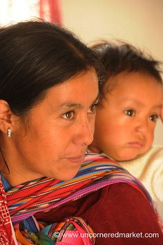 Guatemalan Woman with Baby