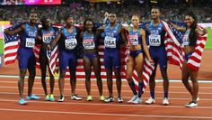 Allyson Felix extended her career medals record Toyota Usa, Allyson Felix, Usa Olympics, Jenna Coleman, Olympians, World Championship, All About Time, Athletes, Runners
