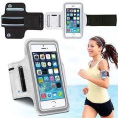 Sports Running Cover for iPhone 6 Gym Arm Band Nylon Case For iphone 5 5S 6 6S…