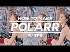 💫 how to make polarr filters #7 - YouTube Filters, Youtube, How To Make, Youtube Movies