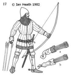 ENGLISH MOUNTED ARCHER, 14th CENTURY