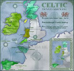 Celtic Nations--Ireland, Scotland, Wales, Cornwall, Spanish Galicia, Brittany, Isle of Man (Manx)