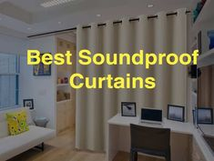 Thick Curtains, Curtains For Sale, Ceiling Curtains, Diy Curtains, Sound Proof Curtains, French Door Coverings, Soundproof Panels, Room Divider Curtain, Ceiling Speakers