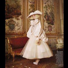 Raquel Zimmermann for John Galliano-Vogue Paris