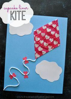 SHAPES:  Rhombus (cupcake kite)