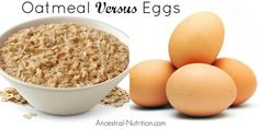 Oatmeal Versus Eggs: Which Is Healthier?