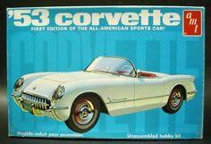 AMT - 1953 Corvette model kit