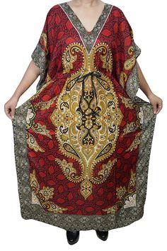 06e0ff5191 Indiatrendzs Women Kaftan Dresses Light Viscose Kimono Loose Caftan Dress  56