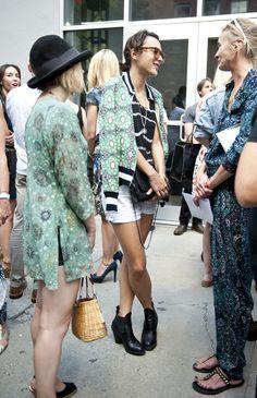 Street Style, September 8. (Credit: Raydene Salinas/HPMG)