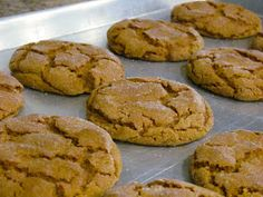 Becoming Betty: Giant Molasses Cookies