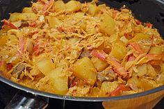 Szegediner Kartoffelgulasch