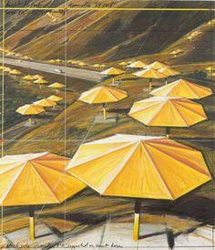 christo's umbrellas - Google Search