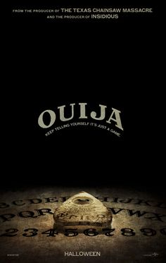 TonightfFilm: #OuijaMovie A group of teens unleash evil powers when they start playing with a Ouija board. Unscary. D