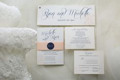Wedding invitations | Erin Johnson Photography | see more at http://fabyoubliss.com