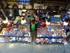 Seoul Noryangjin fish market. Great place to enjoy fresh sea food!