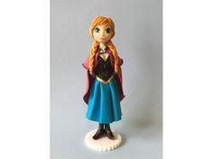 Frozen Fondant #Anna #Cake